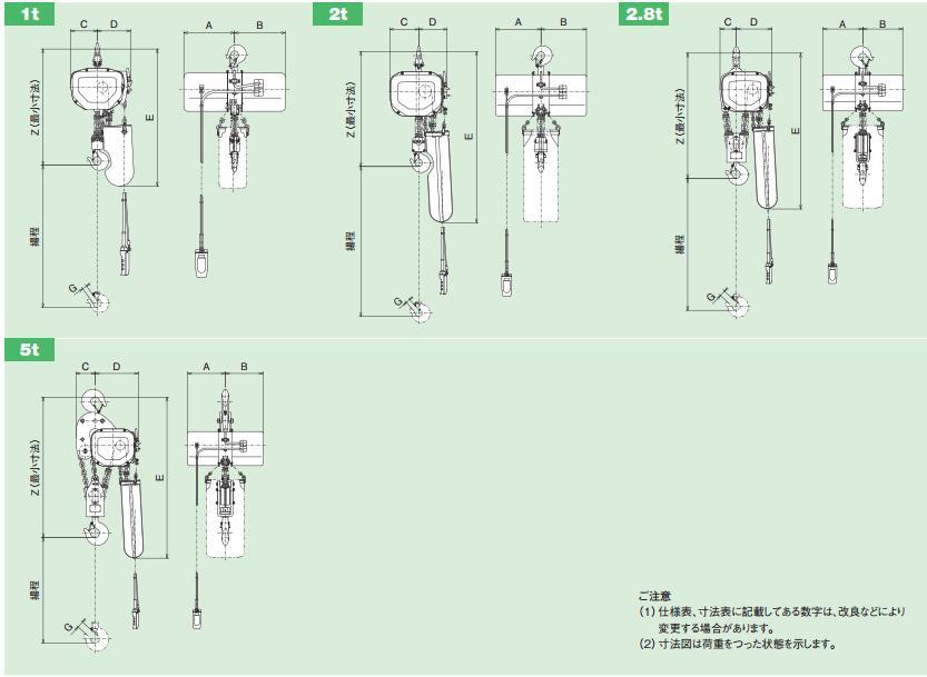 HITACHI电动葫芦