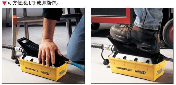 ENERPAC气动泵
